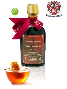 Product Description    There is so much to say about this Extraordinary Balsamic Vinegar, made with Malpighi Saporoso & organic Linden Honey! We want to tell you about Orti Borghesi & Malpighi Acetaia.     www.dolceterra.com #ORTI #BORGHESI #Malpighi #Saporoso #organic #Honey