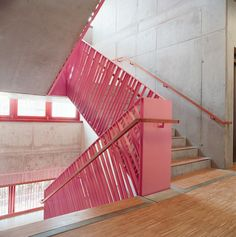 Love this stair railing color and form