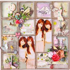 Inspire Yourself - Scrapbook.com (Found on Websters Pages) onto Scrapbook Art.