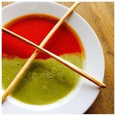 Zupa pomidorowo  groszowa:)