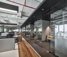 Emirates National Investment Office, Designed and Built by Swiss Bureau Interior… – Luxury Office Designs Corporate Interior Design, Interior Design Career, Interior Design Dubai, Interior Design Website, Modern Office Design, Corporate Interiors, Contemporary Office, Interior Design Companies, Office Interiors
