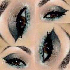 para ojos marrón