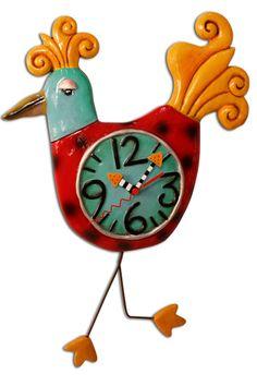 a4035a9a7af Allen Designs Bird-a-tude Pendulum Clock Relógio De Bolso