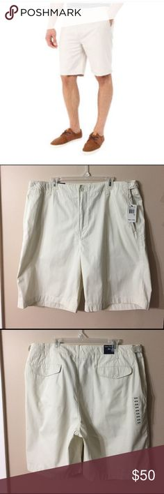 "🆕NAUTICA Flat Front Modern Fit Chinos NWT!! Brand new flat front shorts! Has adjustable side tabs that button for a custom fit without a belt! Laid flat waist measures 22"", inseam is 10.5"". Nautica Shorts Flat Front"