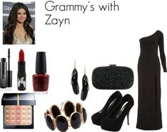 """Grammy's with Zayn"" by foreveryoungonedirection ❤ liked on Polyvore"