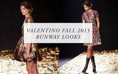 Shop Valentino Fall 2015 Runway Looks