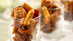 Kentucky Bourbon Bacon Chex Mix