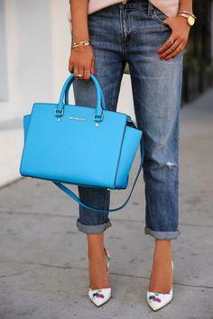 Michael Kors Handbags Selma