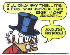 "| I'm no fool! | From ""Bye-Bye, Money Bin"" (1968) by Vic Lockman"