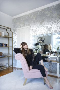 Oh to have a big walk in closet... it's the stuff that dreams are made of. But one look at Jenny Cipoletti of Margo & Me's inspiring fashion ensembles and this newly revamped closet + office space makes complete and total sense. It's
