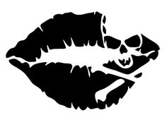 skull silhouette sexy - Google Search