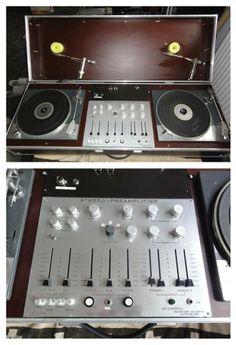 Lenco L75 DJ console