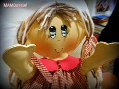 fofucha plana tipo muñeca de trapo