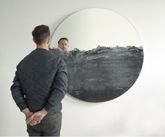 DRIFT collection continues limited edition round mirrors by Fernando Mastrangelo