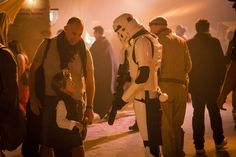 """A 70,000 square meters set in London and hundreds of actors: With more than 150 interactive """"Star Wars"""" cinema performances #SecretCinema offered the cultural highlight of this summer. For the shows #Riedel´s partner #WonderWorks provided an Artist intercom, panels and radios. #StarWars #TheForceAwakens"""