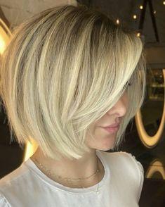 Bob Hairstyles For Fine Hair, Older Women Hairstyles, Pretty Hairstyles, Really Short Hair, Short Hair Cuts, Sassy Hair, Hair Creations, Hair Color And Cut, Hair Remedies
