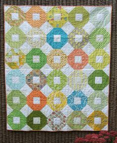 Shoo fly quilt by Anne@surelynotanotherproject (mianni2010), via Flickr