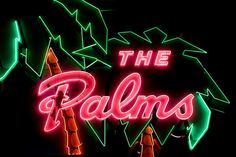 The Palms #neonsign