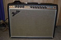 Fender Twin Reverb 1968 Vintage Beatles year Amp Silver face