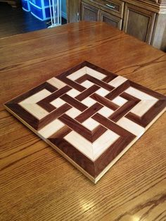 Celtic knot cutting board.