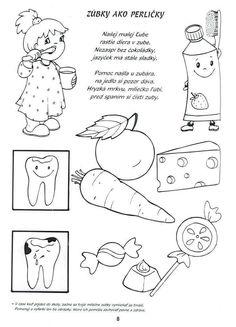 Preschool Education, Preschool At Home, Preschool Activities, Dental Health Month, Dental Kids, Health Activities, Health And Wellness Quotes, Kindergarten Art, Health Education