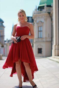 Ber ideen zu rote chiffonkleider auf pinterest - Zalando kleid rot ...
