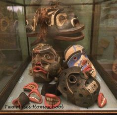 Kwakiutl Masks from the American Museum of Natural History