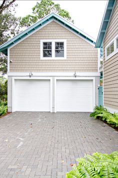 """Home Exterior Ideas. Home Exterior Ideas. Exterior Beach House. Exterior Paint Color is """"Sherwin Williams Tony Taupe SW7038″.   #Exterior #HomeExterior"""