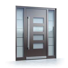 Interior and exterior doors by MilanoDoors, contemporary italian doors, modern wood doors. Modern Wood Doors, Modern Entrance Door, Modern Exterior Doors, Modern Front Door, Entrance Doors, Wooden Doors, Home Door Design, Foyer Design, Front Door Design