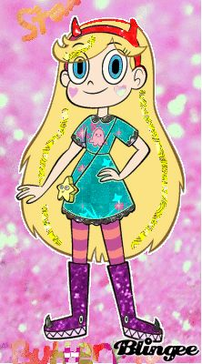 Star Butterfly in glitter Starco, Star Butterfly, Pinkie Pie, Star Vs The Forces Of Evil, Force Of Evil, Custom Photo, Princess Peach, Brother, Glitter