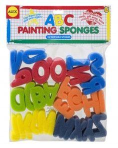 Alphabet Sponges (26) Image