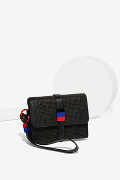 Charlize Perforated Crossbody Bag