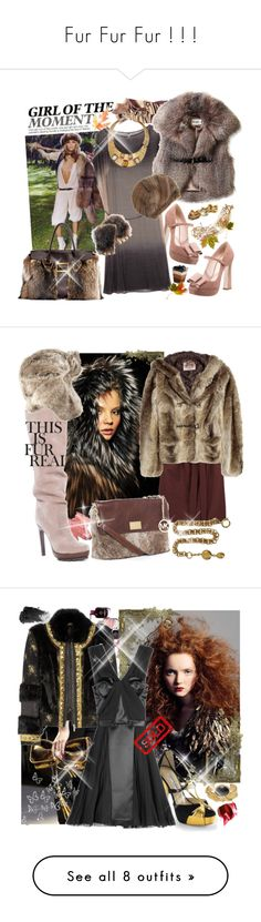 """Fur Fur Fur ! ! !"" by becky-86 ❤ liked on Polyvore featuring Emilio Pucci, Miu Miu, Ian R.N., Alice by Temperley, Roger Vivier, Etro, Oscar de la Renta, Disney, Michael Kors and Stila"