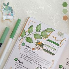 ☾ sur Instagram: 𝑱𝒖𝒍𝒚 🌿 w e e k l y a little detail of my last weekly ✨ for the first time I used the really cute stickers (tea plant in the middle) I got…