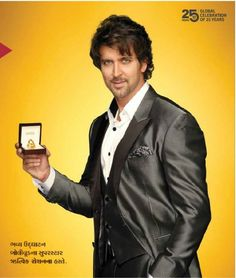 Hrithik Roshan's Joyalukkas Ads on set pics