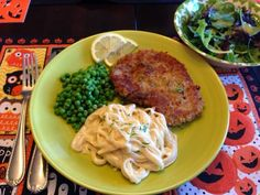 Applesauce recipe & Parmesan Crusted Pork Chop with Fettuccine Alfredo & more