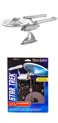 Star Trek The Original Series U.S.S. Enterprise NCC-1701 Metal Earth Model Kit