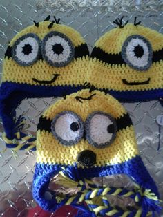 Pink zombie creations 10$ minion hats