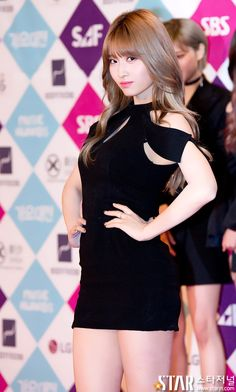 Momo Twice looking good on the red carpet
