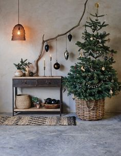 From the table to the tree our exquisite handmade collections promise something unique this Christmas. christmas table Natural Christmas Home Small Christmas Trees, Beautiful Christmas Trees, Noel Christmas, Christmas Wreaths, Scandinavian Christmas Trees, Natural Christmas Tree, Christmas Crafts, Christmas Cookies, Minimalist Christmas Tree