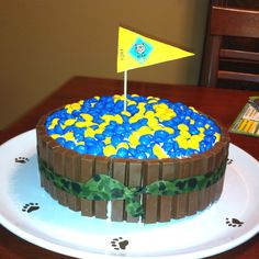 Bear Den Cub Scout Cake