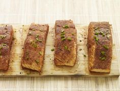 Spice Rubbed Cedar Plank Salmon recipe.