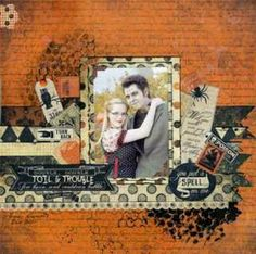 Halloween pic, on card stock