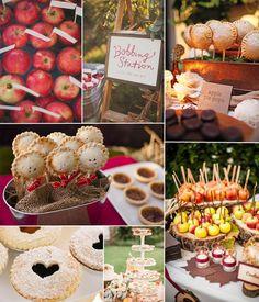 10 Incredible Wedding Details for Fall Wedding 2014 | http://www.tulleandchantilly.com/blog/ten-incredible-wedding-details-for-fall-wedding-2014/
