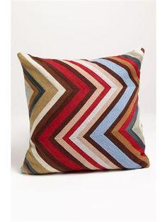 Mina Victory 'Chevron' Pillow - product summary - Bing Shopping
