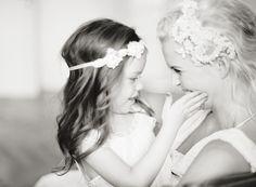 Precious Bride & Flower Girl photo!!