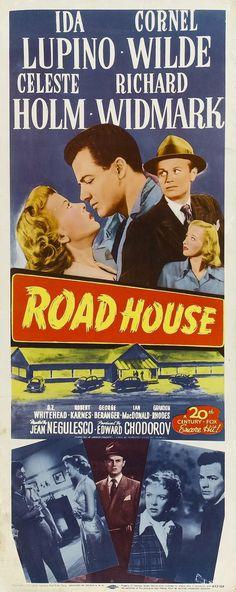ROAD HOUSE (1948) IDA LUPINO, RICHARD WIDMARK, CORNEL WILDE