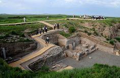Es poco lo que queda de Shangdu, la residencia de verano a la que Kublai Khan invitó formalmente a Marco Polo.
