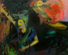 "Saatchi Online Artist Liu Chenyang; , ""野"" #art"