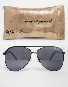 Quay Australia X Shay Vivienne Sunglasses! Definitely want these black on black